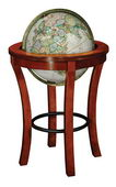 16in National Geographic Garrison Deluxe Floor Globe Antique Ocean - CRP1665