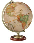 12in Replogle Kingston Deluxe Desk Globe Antique Ocean - CRP1671