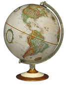 12in Replogle Salem Antique Desk Globe - CRP1907