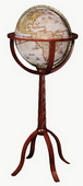 12in Replogle Coronelli Floor Globe - CRP1862