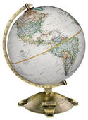 12in National Geographic Allanson Desk Globe Antique Ocean - CRP1683