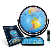 Replogle Intelliglobe II Double Deluxe Interactive Globe For Kids - CRP1910