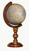 6in Replogle Antique Waldseemüller Desk Globe - CRP1853
