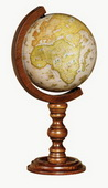 6in Replogle Cabot Antique Coronelli Desk Globe - CRP1886