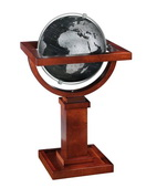 6in Replogle Mini Wright Deluxe Slate Gray Desk Globe - CRP1898