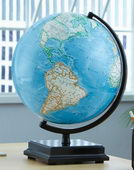12in Discovery Desk Globe Blue Ocean - CRP1716