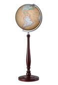 12in Discovery Floor Globe Antique Ocean - CRP1764