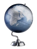 12in Replogle Diamond Marquise Blue Desk Globe - CRP1892