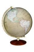 12in Discovery Desk Globe Antique Ocean - CRP1800
