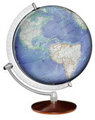 12in Discovery Desk Globe Blue Ocean - CRP1803
