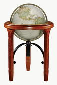 16in National Geographic Jameson Deluxe Floor Globe Antique Ocean - CRP1824