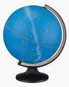 12in Replogle Constellation Deluxe Star illuminated Desk Globe - CRP1023