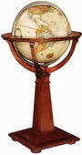 16in Replogle Logan Deluxe Antique Floor Globe - CRP1050