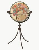 16in Replogle Marin Deluxe Antique Floor Globe - CRP1068