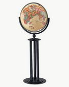 16in Replogle Forum Antique Floor Globe - CRP1074