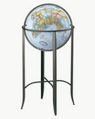 16in Replogle Trafalgar Blue Floor Globe - CRP1077