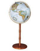 16in Replogle Edinburgh Deluxe Blue Floor Globe - CRP1080