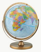 12in Replogle Pioneer Educational Blue Desk Globe - CRP1104