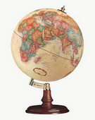 12in Replogle Cranbrook Antique Desk Globe - CRP1110