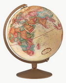 12in Replogle Franklin Educational Antique Desk Globe - CRP1116