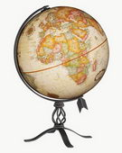 12in Replogle MacInnes Antique Desk Globe - CRP1119