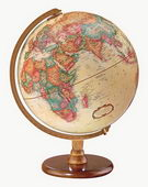 12in Replogle Hastings Antique Desk Globe - CRP1122