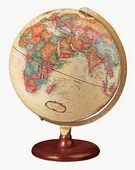 12in Replogle Piedmont Antique Desk Globe - CRP1128