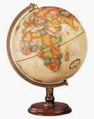 12in Replogle Lenox Deluxe Antique Desk Globe - CRP1131