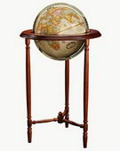 12in Replogle Saratoga Antique Floor Globe - CRP1149
