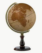 12in Replogle Leather Expedition Deluxe Desk Globe - CRP1164