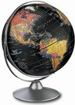 Replogle 12in Starlight Deluxe Black Desk Globe - CRP1167