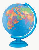12in Replogle Adventurer Educational Blue Desk Globe - CRP1173