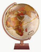 12in Replogle Bronze Desk Globe - CRP1176