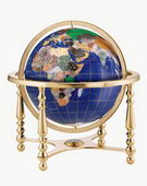 13in Replogle Compass Jewel Gemstone Desk Globe - CRP1212