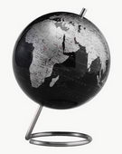 6in Replogle Spectrum Deluxe Black Desk Globe - CRP1230