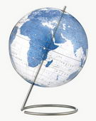 12in Replogle Clear Blue Desk Globe - CRP1305