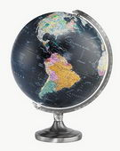 12in Replogle Orion Black Deluxe Desk Globe - CRP1320