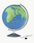 12in Replogle Geographer Educational Blue Desk Globe - CRP1323