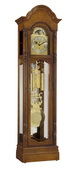 Ridgeway Primrose Deluxe Triple Chiming Grandfather Clock (Made in USA) - CRW3452