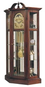 Ridgeway Richardson l Deluxe Cherry Chiming Grandfather Clock (Made in USA) - CRW3389