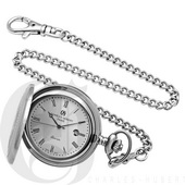 Charles Hubert Premium Pocket Watch Quartz - DCH5131