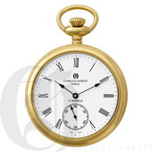 Charles Hubert Classic Pocket Watch 17 Jewel Mechanical - DCH5071