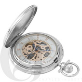 Charles Hubert Paris Two-Tone Hunter Case Mechanical Pocket Watch - DCH5358
