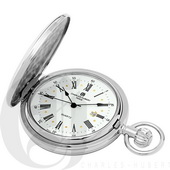Charles Hubert Paris Hunter Case Quartz Pocket Watch - DCH5367