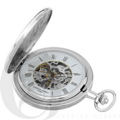 Charles Hubert Paris Two-Tone Hunter Case Mechanical Pocket Watch - DCH5406
