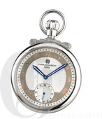 Charles Hubert Paris Polished Finish Open Face Mechanical Pocket Watch - DCH5457