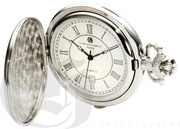 Charles Hubert Paris Hunter Case Quartz Pocket Watch - DCH5475