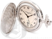 Charles Hubert Paris Hunter Case Quartz Pocket Watch - DCH5478