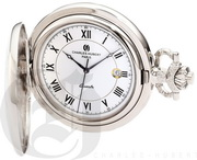 Charles Hubert Paris Hunter Case Quartz Pocket Watch - DCH5484