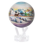 4.5in Dia Mova Globe Home for the Holidays - EMV4090